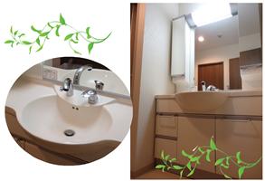 Case15 自分好みの洗面台で快適空間に♪ (和泉市 Y様邸)