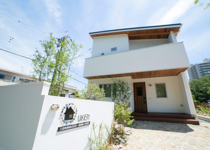 新築事例3 優建事務所兼モデルハウス