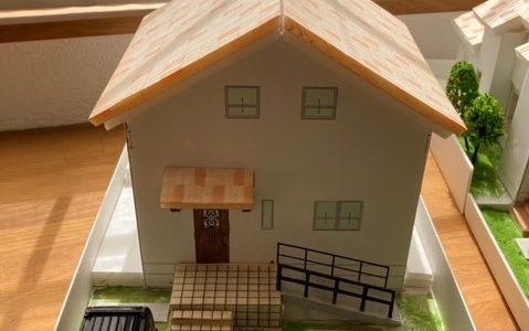 住宅模型の再製作☆